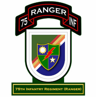 75th Infantry Regiment - Rangers Standing Photo Sculpture