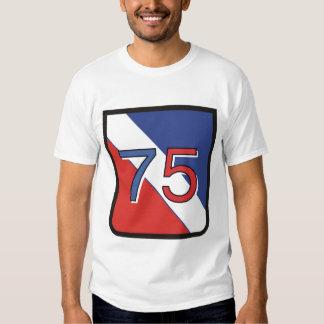 75th logo tshirt