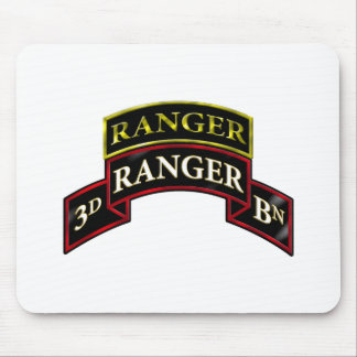 75th Ranger 3rd Battalion w/Tab Mouse Pad