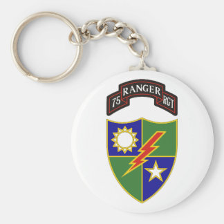 75th Ranger Regiment Keychain
