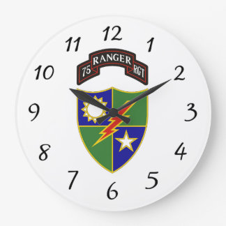 75th Ranger Regiment - Wall Clock