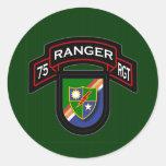 75th Ranger Rgt - scroll & flash