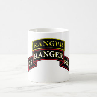 75th Ranger w/Tab Coffee Mug