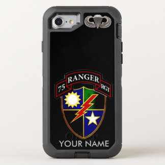 75th RangerRegiment OtterBox Defender iPhone 8/7 Case