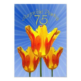 75th Surprise Birthday Party Invitation