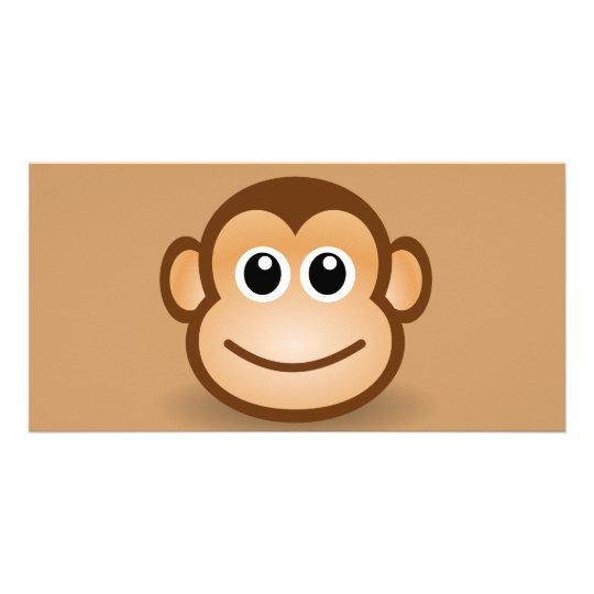 76-Free-Cute-Cartoon-Monkey-Clipart-Illustration Card