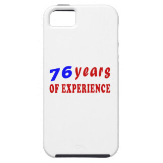 76 years of experience iPhone 5/5S case