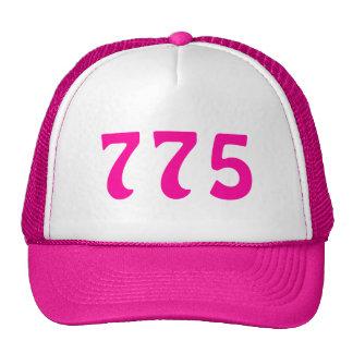775 Area Code Neon Pink Cap