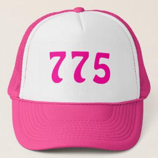 775 Area Code Neon Pink Trucker Hat