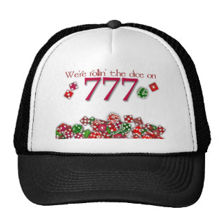 777 07/07/07 Hat for your special July 7, 2007 eve