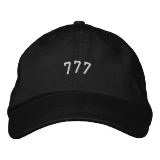 777 EMBROIDERED CAP