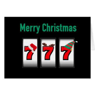 777 Merry Christmas Card