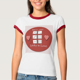 777 Wedding - Great T Shirt for bride to be