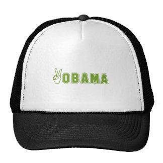 77.PEACE-OBAMA TRUCKER HAT