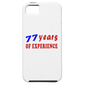 77 years of experience iPhone 5 covers
