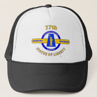 "77TH INFANTRY DIVISION ""STATUE OF LIBERTY"" TRUCKER HAT"
