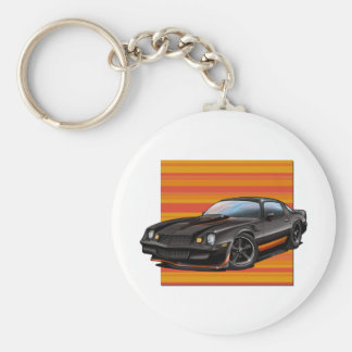 78-81 Camaro Basic Round Button Key Ring