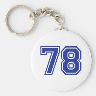 78 - number key ring