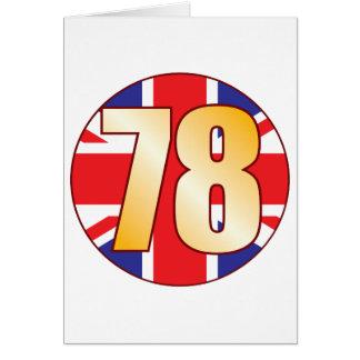 78 UK Gold Card