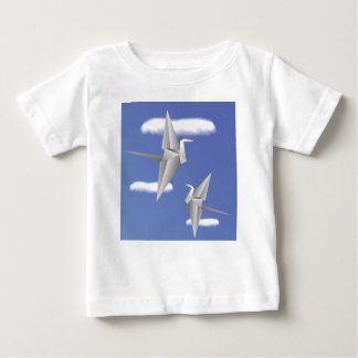 78Paper Birds _rasterized Baby T-Shirt