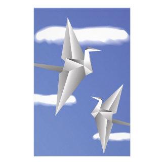 78Paper Birds _rasterized Stationery