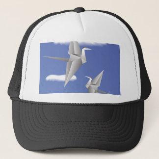 78Paper Birds _rasterized Trucker Hat
