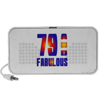 79 And Fabulous Travelling Speaker