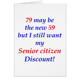 79 Senior Citizen Greeting Cards