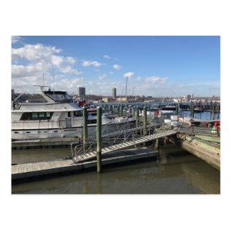 79th Street Boat Basin Hudson River New York City Postcard