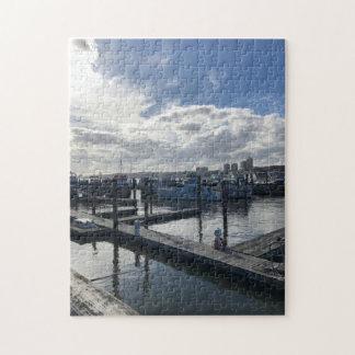 79th Street Boat Basin NYC Hudson River Boats Jigsaw Puzzle