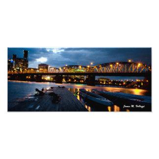 7 29 x 16 5 Hawthorne Bridge Portland Oregon Photo Print