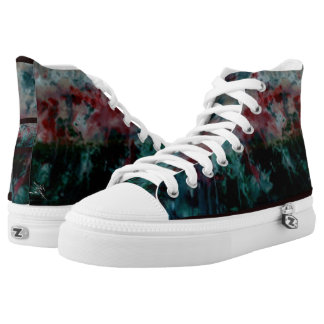 7 Angels abstract High Tops