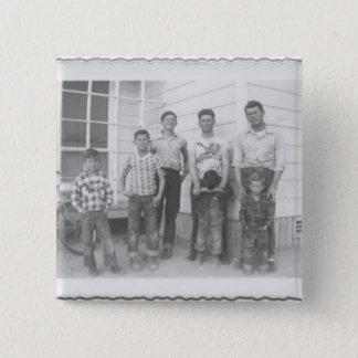 7 Brandon Boys 15 Cm Square Badge