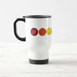 7 Chakras #2 Clearing Artwork Travel Mug