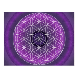 7 crown chakra created by Tutti Postcard