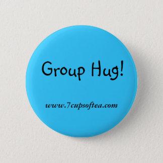 7 Cups of Tea Slogans 6 Cm Round Badge