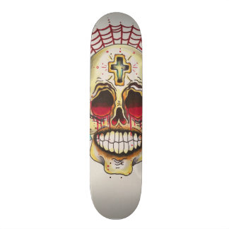 """7¾"""" Day of the Dead skateboard deck"""