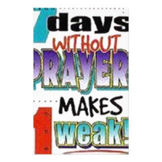 7 Days Without Prayer Stationery