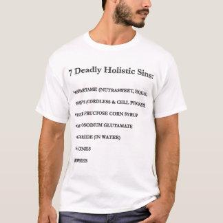7 Deadly Holistic Sins T-Shirt
