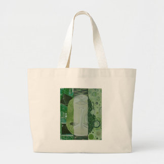 7 Dimensions in One Place Large Tote Bag