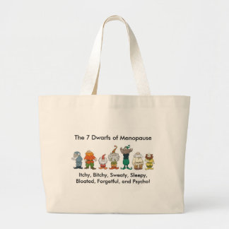 7 Dwarfs of Menopause Bag
