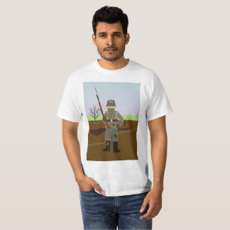 7# German Mid War Rifleman WWI T-Shirt