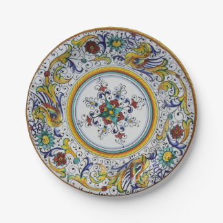 7 inch Early 16th Century Paper Plates