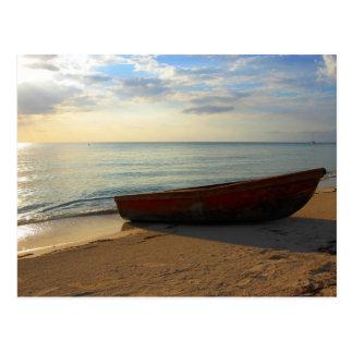7 Mile Beach Sunset Post Card
