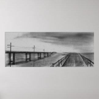 7 Mile Bridge Poster