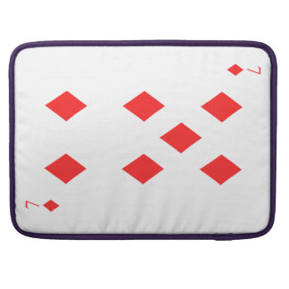 7 of Diamonds Sleeves For MacBook Pro