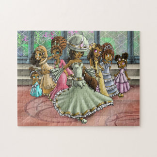 """7 Princesses"" 11x14 Puzzle with Gift Box"
