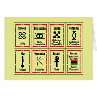 7 Principles Kwanzaa Holiday Greeting Cards