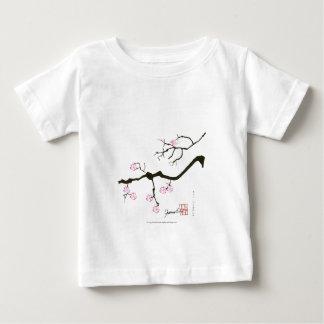 7 sakura blossoms with pink bird, tony fernandes baby T-Shirt