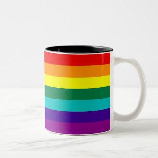 7 Stripes Rainbow Gay Pride Flag Mug